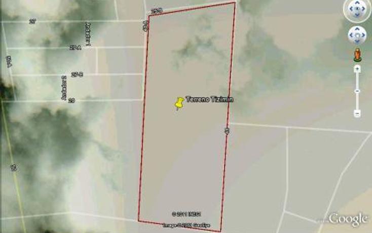 Foto de terreno habitacional en venta en  , colonia yucat?n, tizim?n, yucat?n, 1097215 No. 01