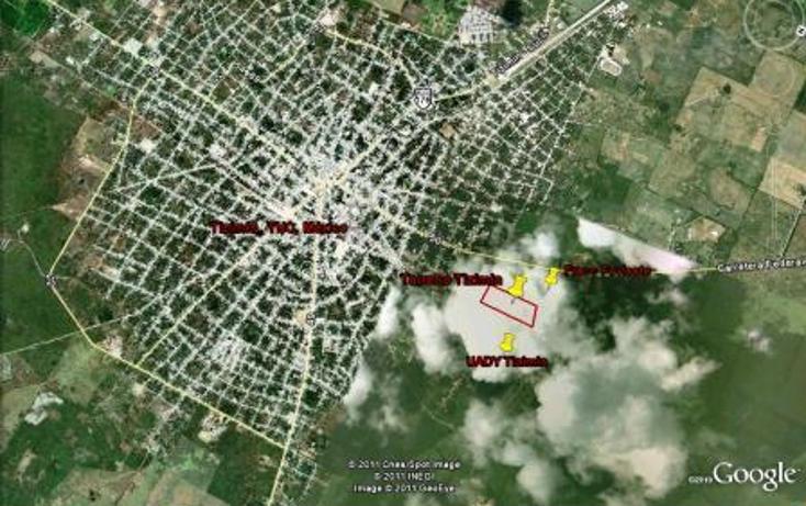 Foto de terreno habitacional en venta en  , colonia yucat?n, tizim?n, yucat?n, 1097215 No. 04