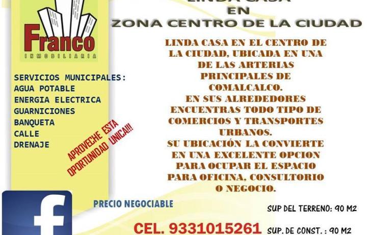 Foto de casa en venta en  , comalcalco centro, comalcalco, tabasco, 1075563 No. 02