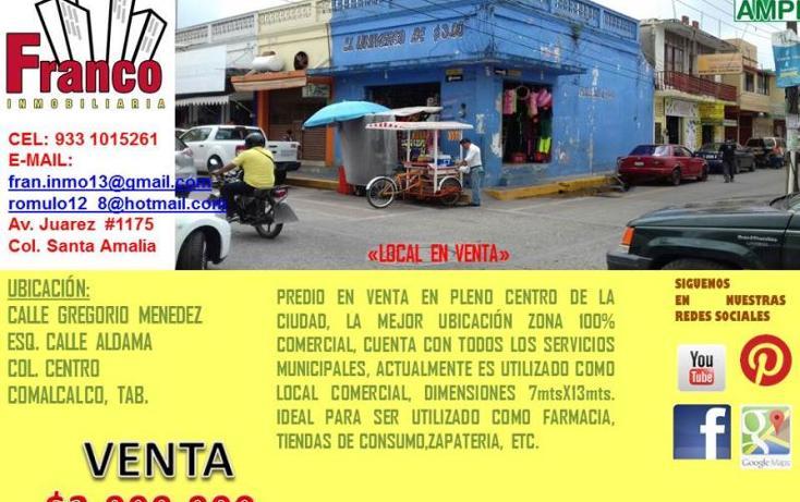 Foto de local en venta en  , comalcalco centro, comalcalco, tabasco, 1839972 No. 02