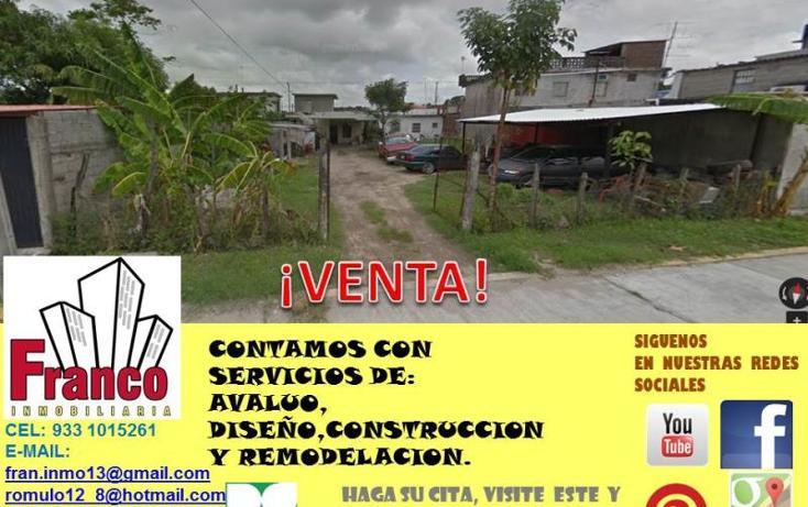 Foto de terreno habitacional en venta en  , comalcalco centro, comalcalco, tabasco, 1981590 No. 03