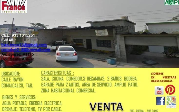 Foto de terreno habitacional en venta en  , comalcalco centro, comalcalco, tabasco, 1981590 No. 04