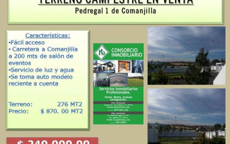 Foto de terreno comercial en venta en comanjilla, comanjilla, silao, guanajuato, 1690384 no 01