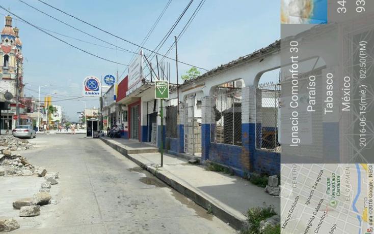 Foto de terreno comercial en venta en comonfort 303, paraíso centro, paraíso, tabasco, 2008264 No. 07