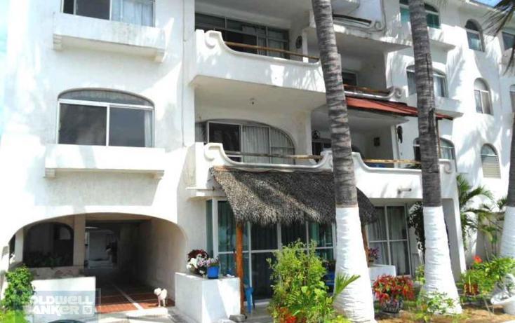 Foto de departamento en venta en cond. playa mar boulevard costero m. de la m. carretera mzlo-cihuatlán manzana 36, playa azul, manzanillo, colima, 1653103 No. 01