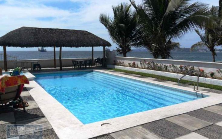 Foto de departamento en venta en cond. playa mar boulevard costero m. de la m. carretera mzlo-cihuatlán manzana 36, playa azul, manzanillo, colima, 1653103 No. 11