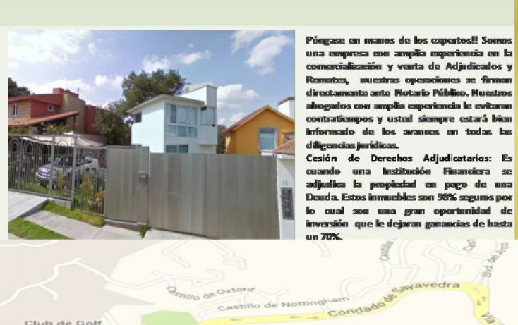Foto de casa en venta en, condado de sayavedra, atizapán de zaragoza, estado de méxico, 1828498 no 01