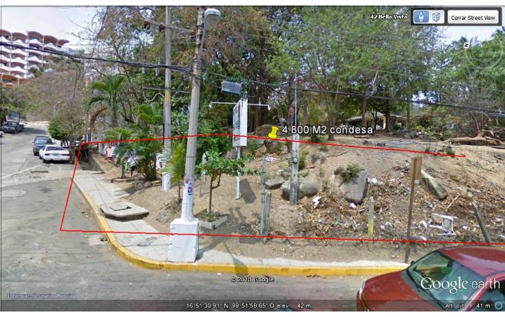 Foto de terreno habitacional en venta en  , condesa, acapulco de juárez, guerrero, 1274413 No. 01