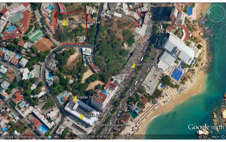 Foto de terreno habitacional en venta en  , condesa, acapulco de juárez, guerrero, 1274413 No. 02