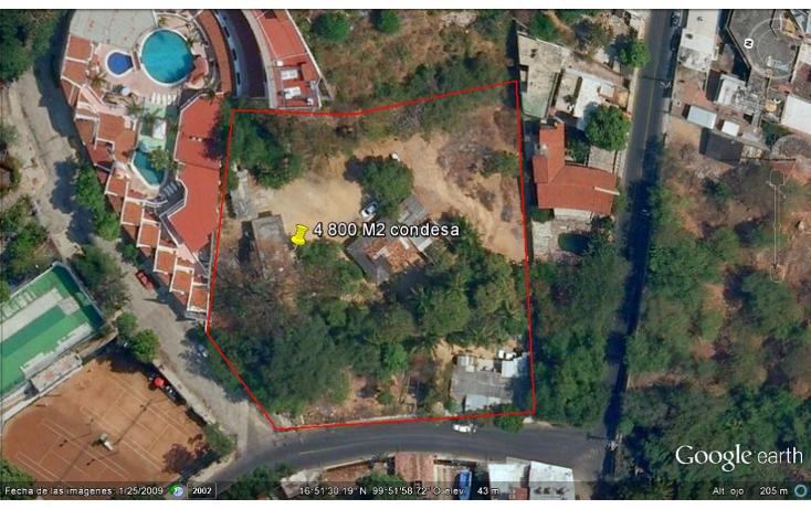 Foto de terreno habitacional en venta en  , condesa, acapulco de juárez, guerrero, 1274413 No. 04