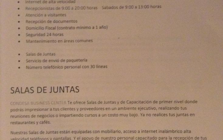 Foto de oficina en renta en  , condesa, cuauhtémoc, distrito federal, 1316639 No. 05