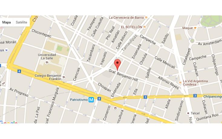 Foto de departamento en venta en  , condesa, cuauhtémoc, distrito federal, 1657605 No. 04