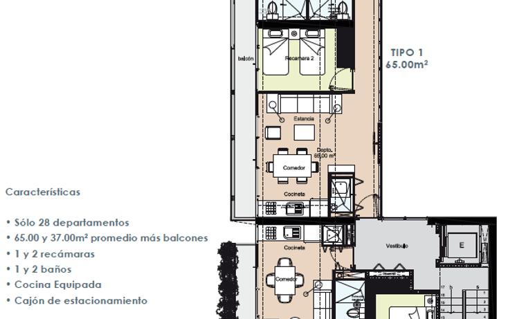 Foto de departamento en venta en vasconcelos , condesa, cuauhtémoc, distrito federal, 2731535 No. 06