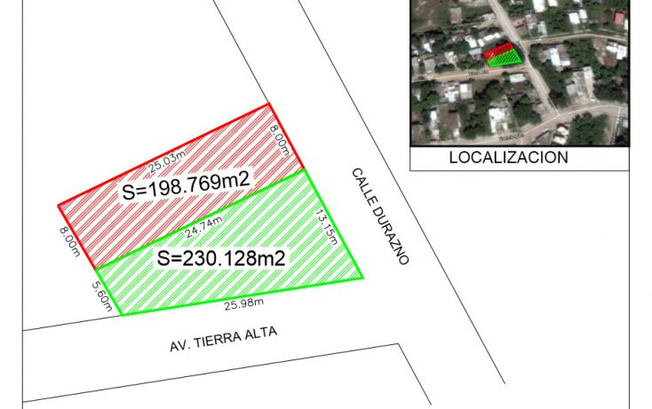 Foto de terreno habitacional en venta en condominio la fuente lote 2, residencial lagunas de miralta, altamira, tamaulipas, 1909011 no 02