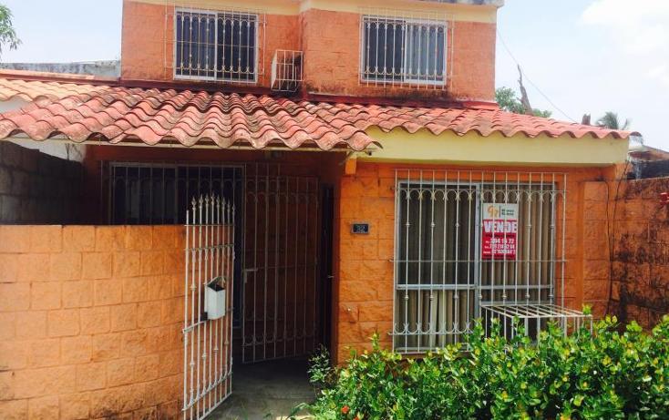 Foto de casa en venta en condominio misantla numero 32 entre prolongacion nardos y boulevard veracruz nort 32, geovillas del puerto, veracruz, veracruz de ignacio de la llave, 965941 No. 01