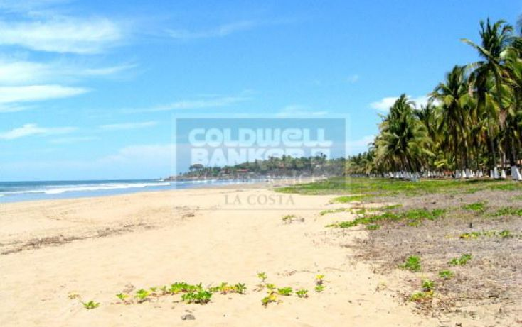 Foto de terreno habitacional en venta en condominio playa las tortugas 25, zacualpan, compostela, nayarit, 740789 no 01