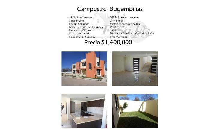 Foto de casa en venta en  , conjunto bugambilias, san juan del r?o, quer?taro, 1502799 No. 01