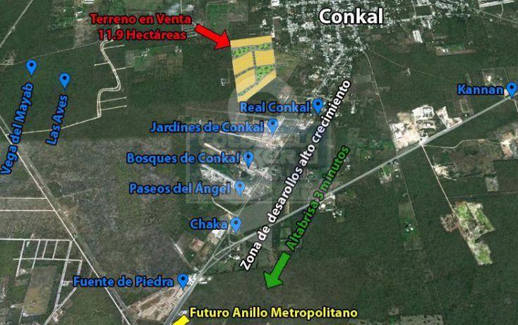 Foto de terreno habitacional en venta en conkal, conkal, conkal, yucatán, 1753830 no 02