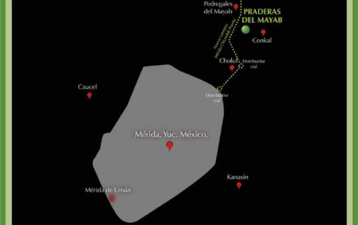 Foto de terreno habitacional en venta en  , conkal, conkal, yucat?n, 1045215 No. 07