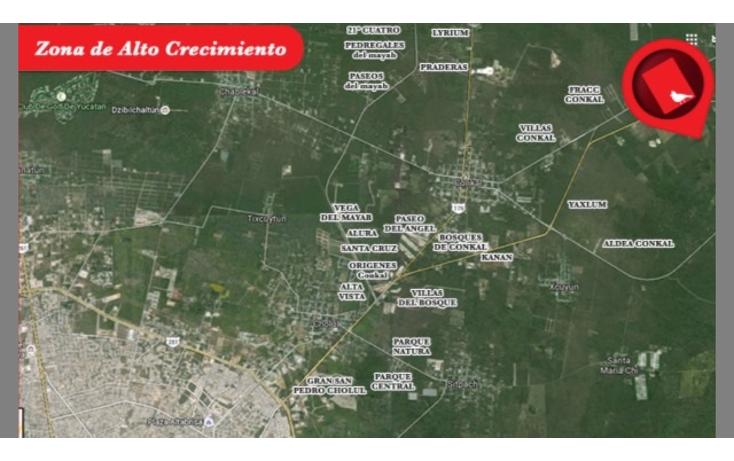 Foto de terreno habitacional en venta en  , conkal, conkal, yucatán, 1046109 No. 03