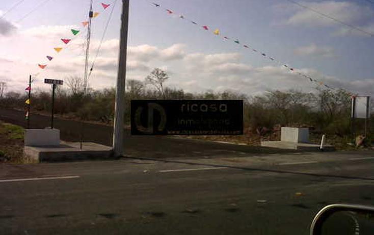 Foto de terreno habitacional en venta en  , conkal, conkal, yucatán, 1047135 No. 04