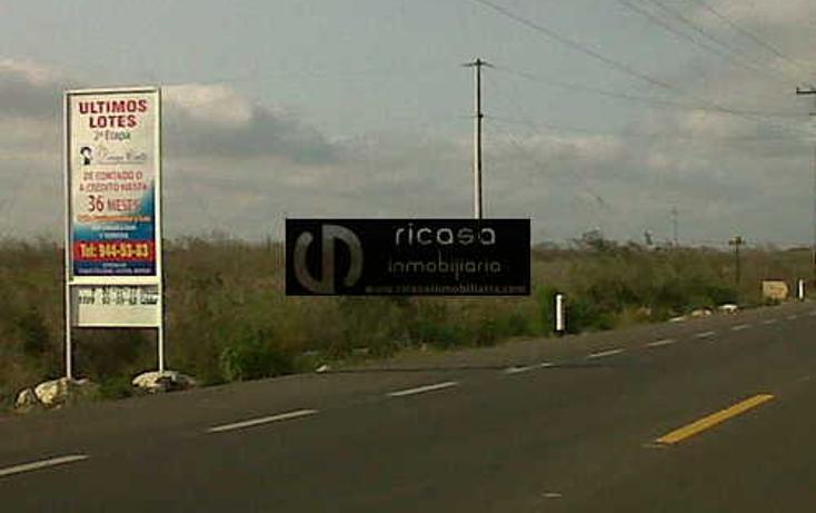 Foto de terreno habitacional en venta en  , conkal, conkal, yucatán, 1047135 No. 07