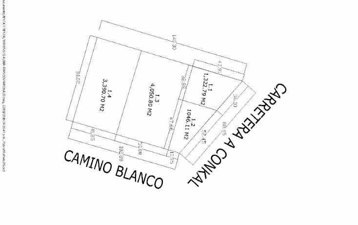 Foto de terreno habitacional en venta en  , conkal, conkal, yucatán, 1047177 No. 02