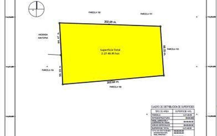 Foto de terreno habitacional en venta en  , conkal, conkal, yucatán, 1049843 No. 03