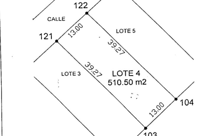 Foto de terreno habitacional en venta en  , conkal, conkal, yucatán, 1050863 No. 01