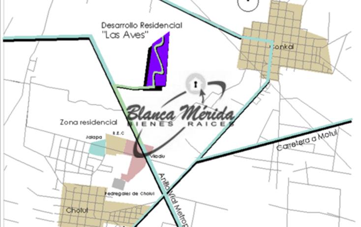 Foto de terreno habitacional en venta en  , conkal, conkal, yucatán, 1055047 No. 04