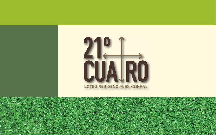 Foto de terreno habitacional en venta en  , conkal, conkal, yucatán, 1059331 No. 02
