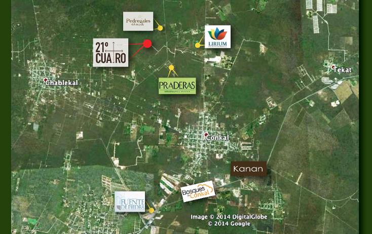 Foto de terreno habitacional en venta en  , conkal, conkal, yucatán, 1059331 No. 03