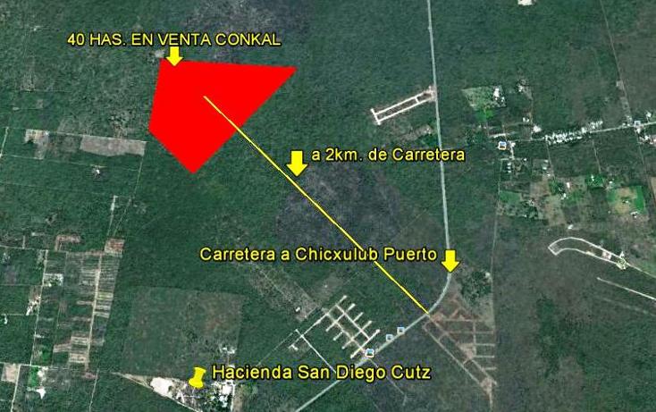 Foto de terreno habitacional en venta en  , conkal, conkal, yucatán, 1060273 No. 01