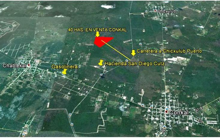 Foto de terreno habitacional en venta en  , conkal, conkal, yucatán, 1060273 No. 02