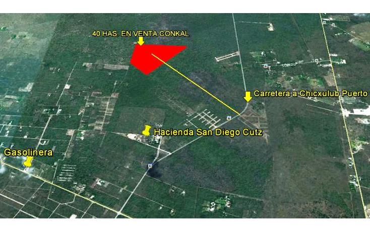 Foto de terreno habitacional en venta en  , conkal, conkal, yucatán, 1060273 No. 04