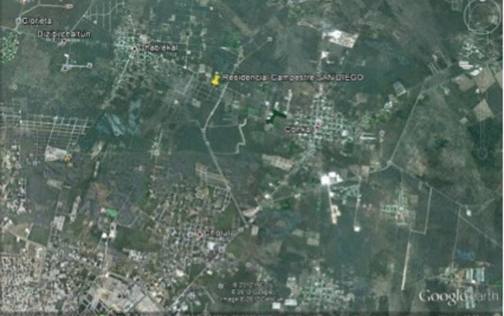 Foto de terreno habitacional en venta en  , conkal, conkal, yucatán, 1061699 No. 03