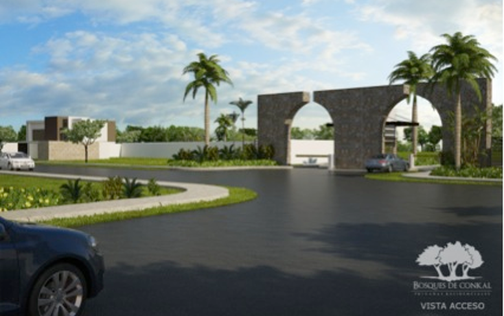 Foto de terreno habitacional en venta en  , conkal, conkal, yucatán, 1061913 No. 02