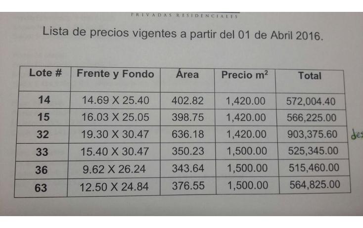 Foto de terreno habitacional en venta en  , conkal, conkal, yucatán, 1061913 No. 03