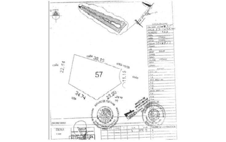 Foto de terreno habitacional en venta en  , conkal, conkal, yucatán, 1068071 No. 15