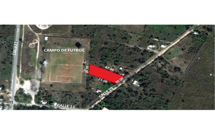 Foto de terreno habitacional en venta en  , conkal, conkal, yucat?n, 1068829 No. 01