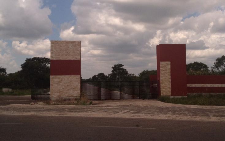 Foto de terreno habitacional en venta en  , conkal, conkal, yucatán, 1070239 No. 01
