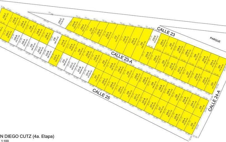 Foto de terreno habitacional en venta en, conkal, conkal, yucatán, 1070469 no 01