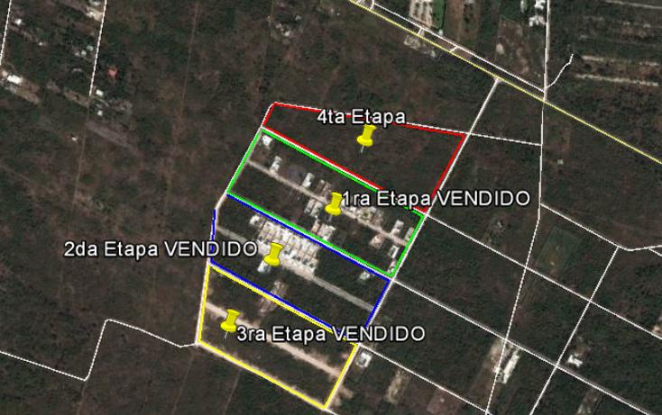 Foto de terreno habitacional en venta en  , conkal, conkal, yucatán, 1070469 No. 02