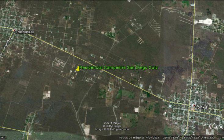 Foto de terreno habitacional en venta en, conkal, conkal, yucatán, 1073495 no 02
