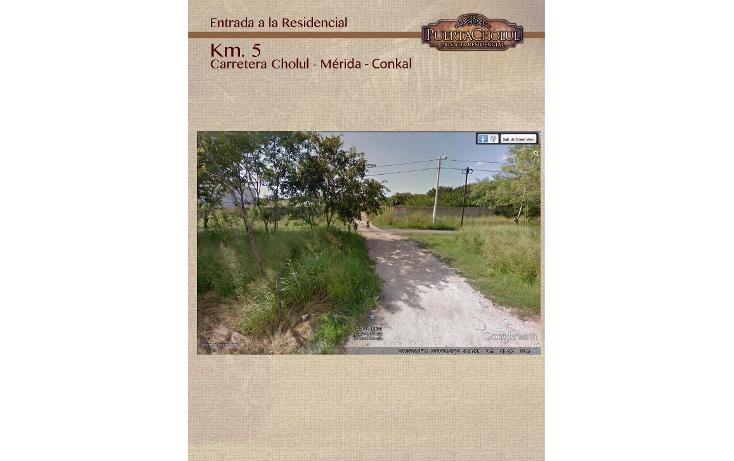 Foto de terreno habitacional en venta en  , conkal, conkal, yucatán, 1076773 No. 03