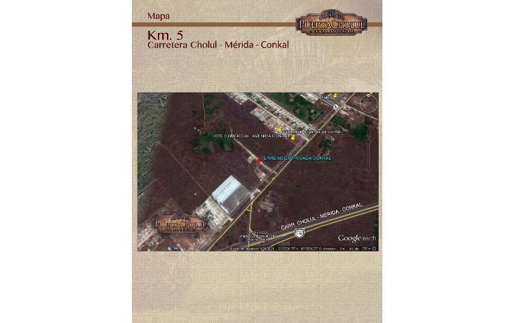 Foto de terreno habitacional en venta en  , conkal, conkal, yucatán, 1076773 No. 04