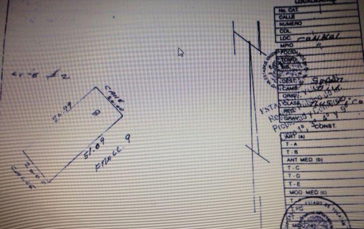 Foto de terreno habitacional en venta en, conkal, conkal, yucatán, 1081751 no 03