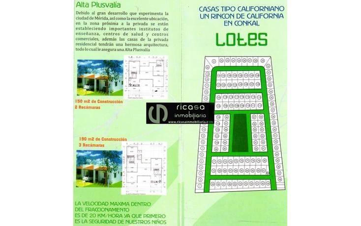Foto de casa en venta en  , conkal, conkal, yucatán, 1085361 No. 01