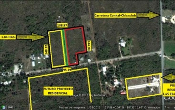 Foto de terreno habitacional en venta en  , conkal, conkal, yucatán, 1093347 No. 03