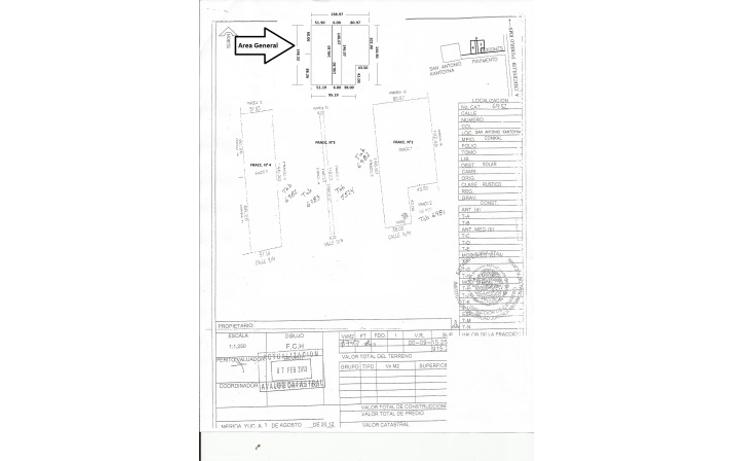 Foto de terreno habitacional en venta en  , conkal, conkal, yucatán, 1093347 No. 16